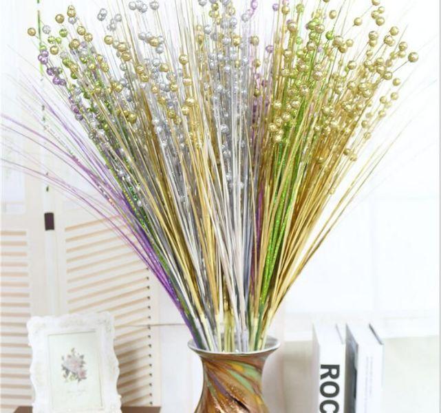 flores artificiales para decorar de colores