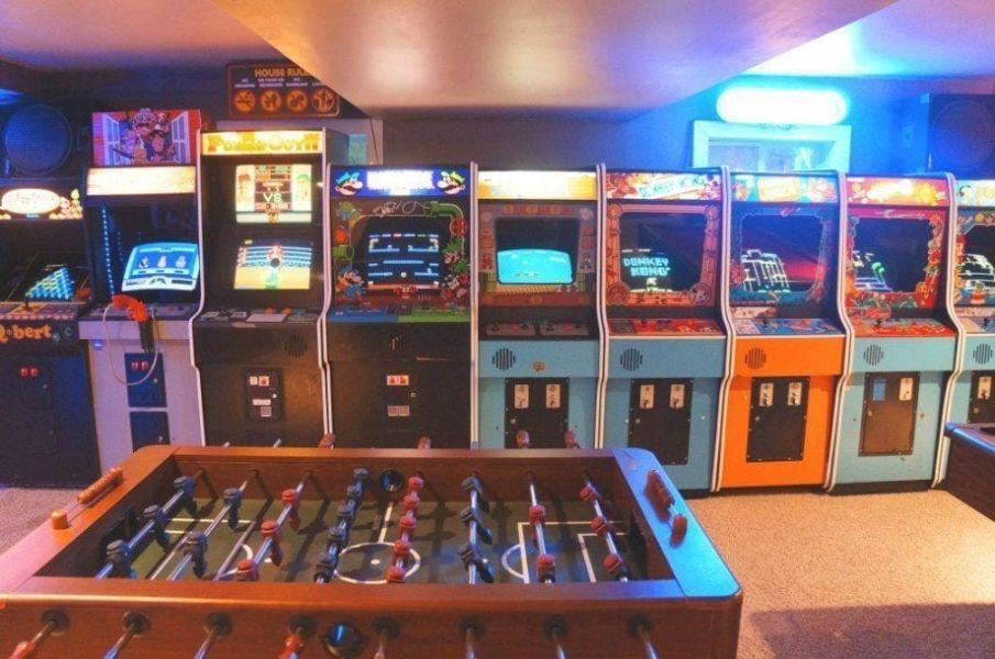 ideas para cuartos gamer vintage