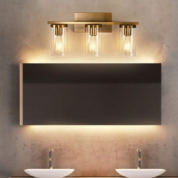 lamparas de baño de pared alta elegancia