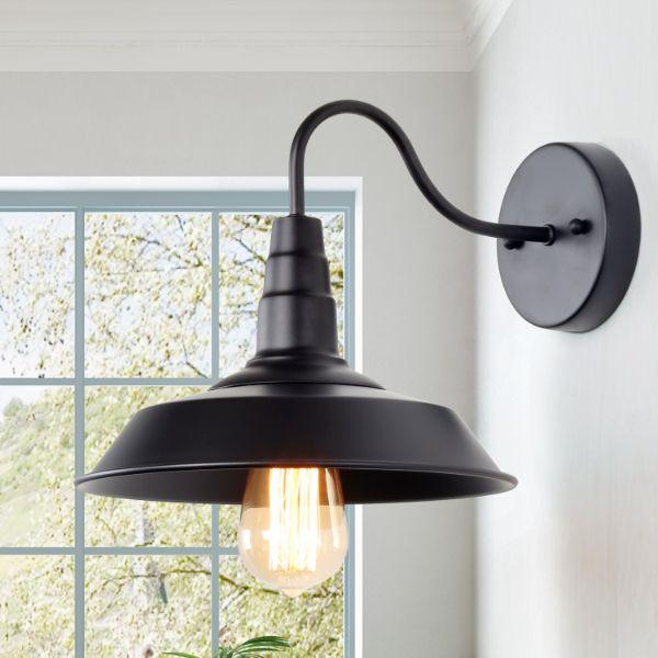 lamparas de pared para baño estilo industrial