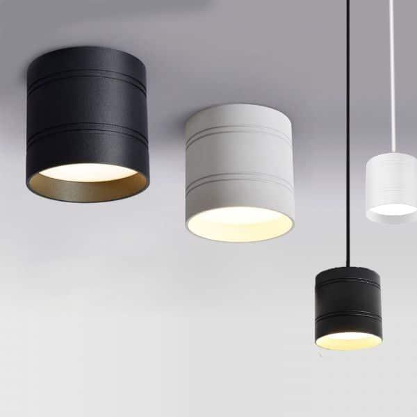 lamparas de techo para baño colgantes o a ras de techo
