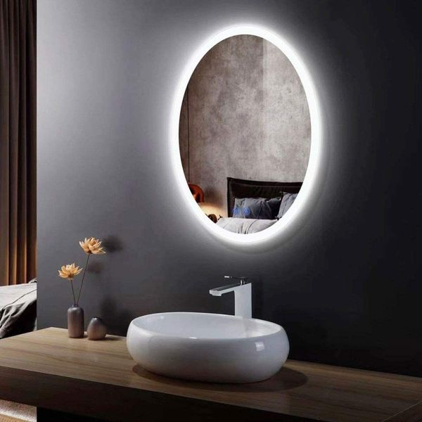 lamparas para baños modernos luz led