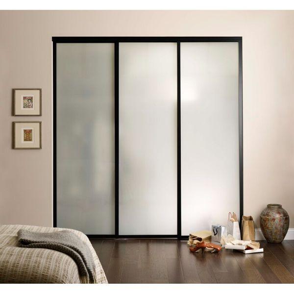 puertas modernas para closet acrilico