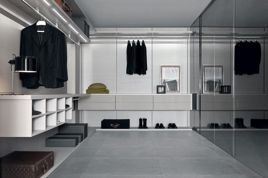 walking closet modernos minimalistas