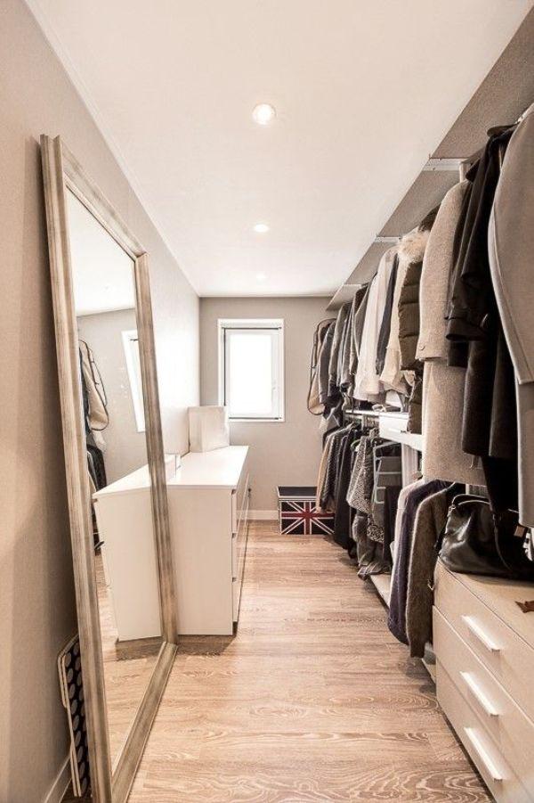 walking closet modernos vintage