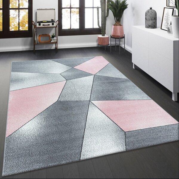 alfombras para sala pequeña efecto vitral