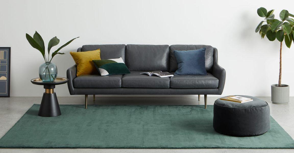 alfombras para sala pequeña para minimalismo