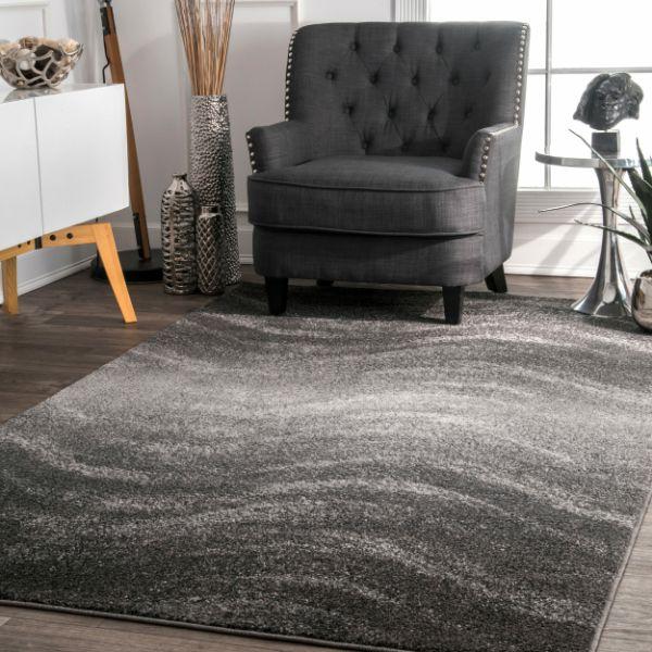 alfombras para salas modernas con efectos visuales