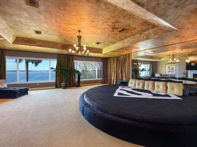 casas de millonarios por dentro recamaras extravagantes