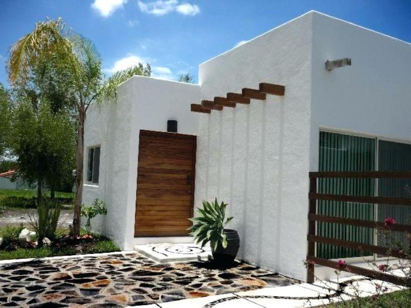 casas estilo colonial moderno arquitectura