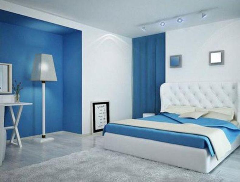 como pintar una habitación moderna a dos tonos