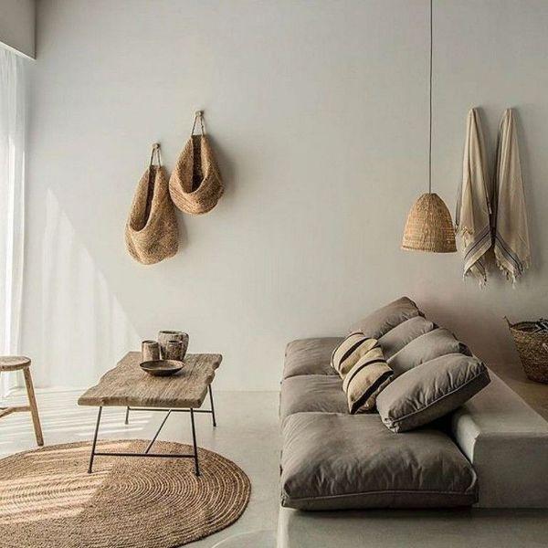 decoracion de casa minimalista detalles rusticos