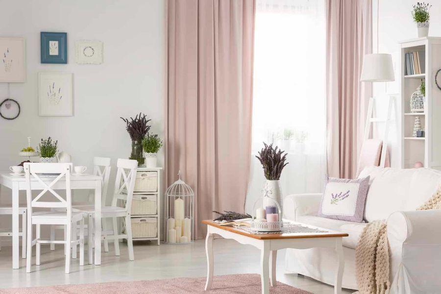 decoracion de interiores sala comedor blanco