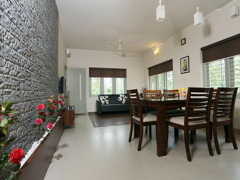 decoracion de interiores sala comedor tonos en muebles