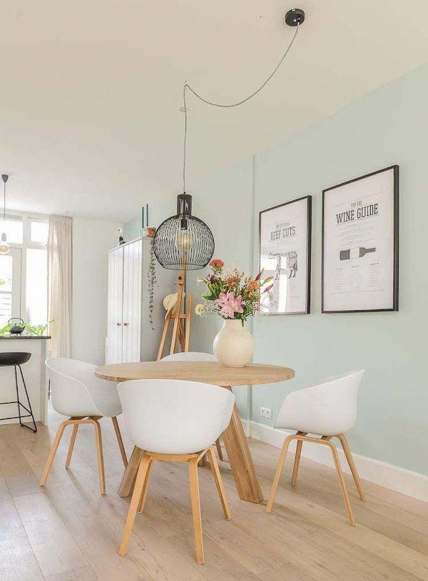 decoracion minimalista casa comedor
