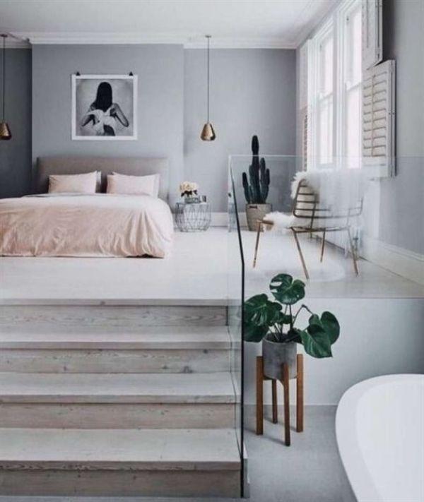 decoracion minimalista casa recamaras