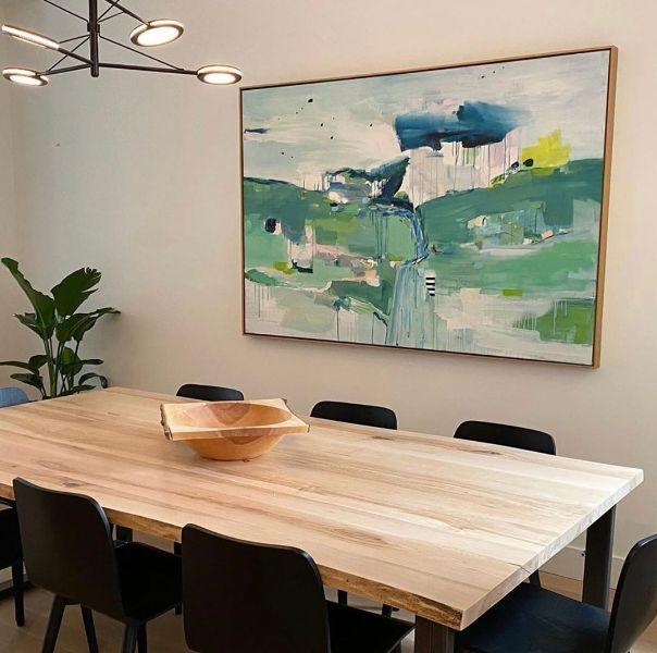 decoraciones de comedor moderno diseños en muebles