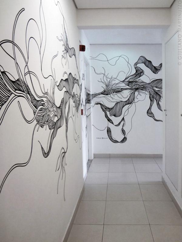 dibujos en paredes de casa ideas urbanas en interior
