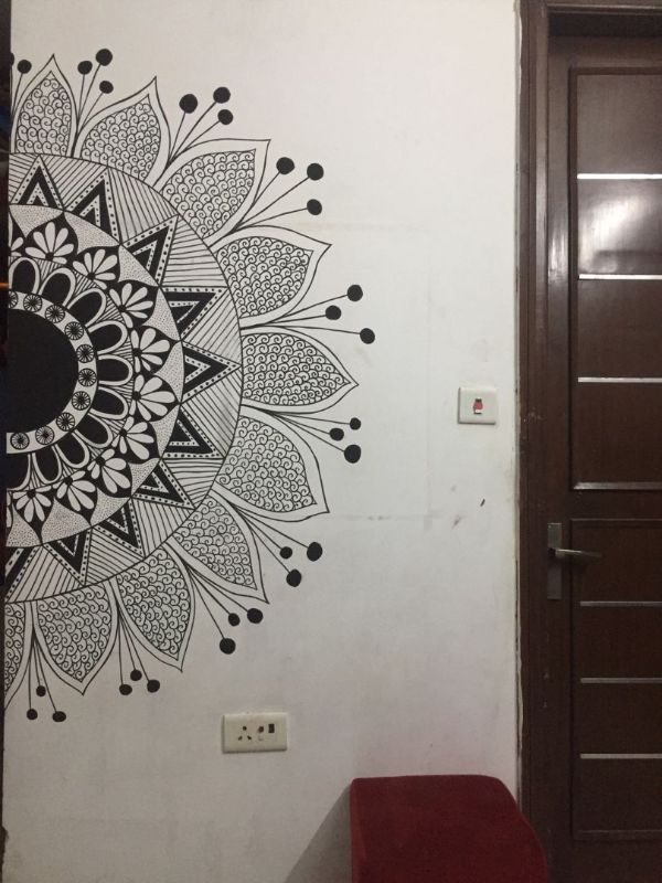dibujos en paredes de casa imagenes con alto detalle