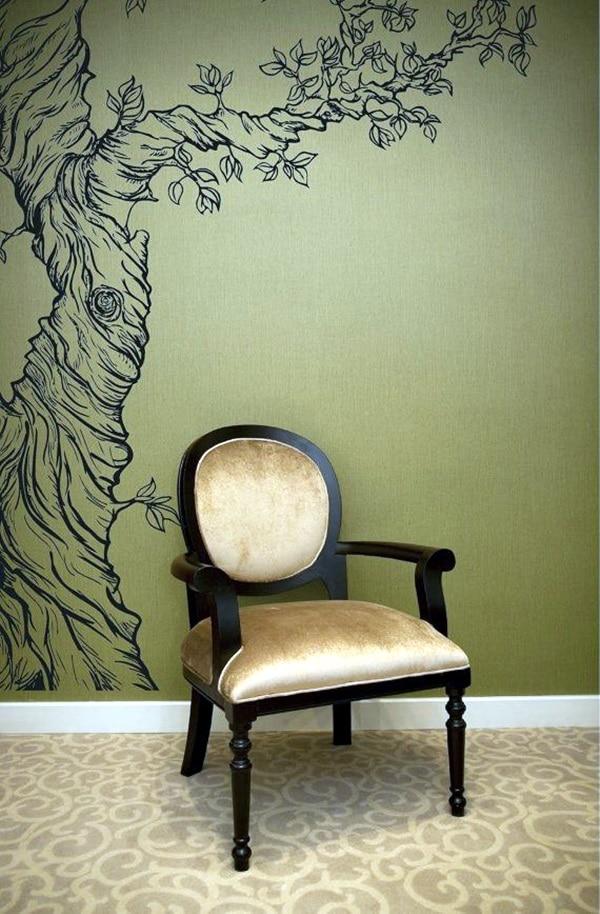 dibujos en paredes de casa para estilos determinados