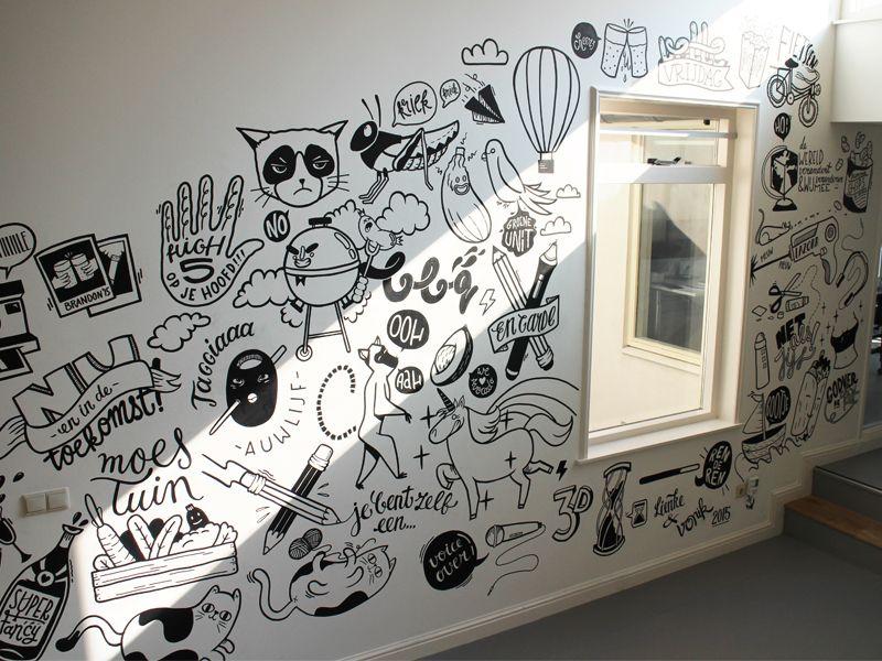 dibujos para la pared de mi cuarto mural de imagenes