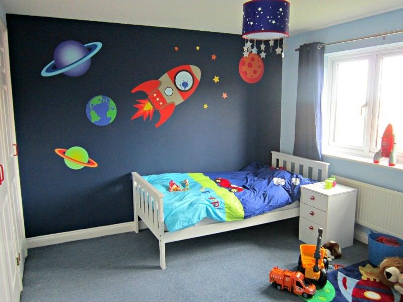 imagenes para decorar paredes de cuartos para niños