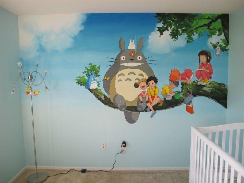 imagenes para pintar en la pared tematicas