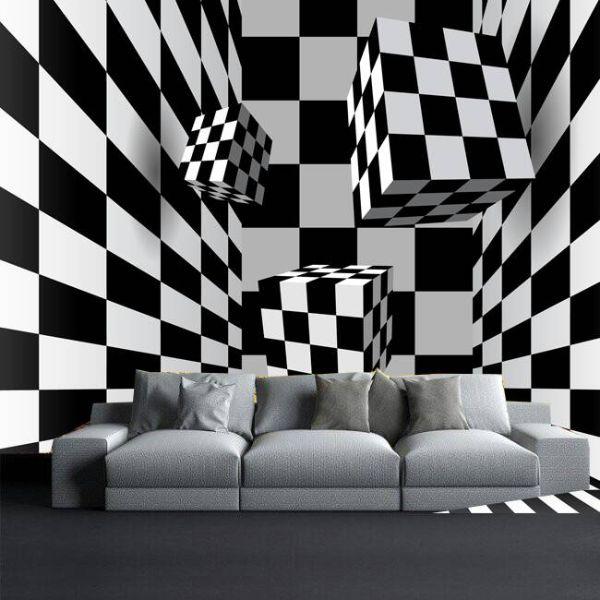 paredes modernas para salas murales el 3d