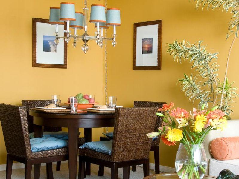 colores para sala y comedor juntos calidos