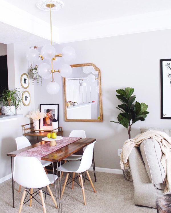 colores para sala y comedor juntos claros para lugares pequeños