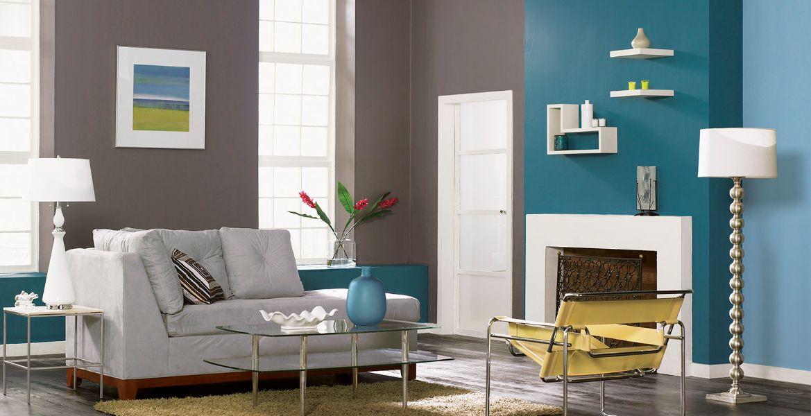 colores para salas modernas mezcla de colores