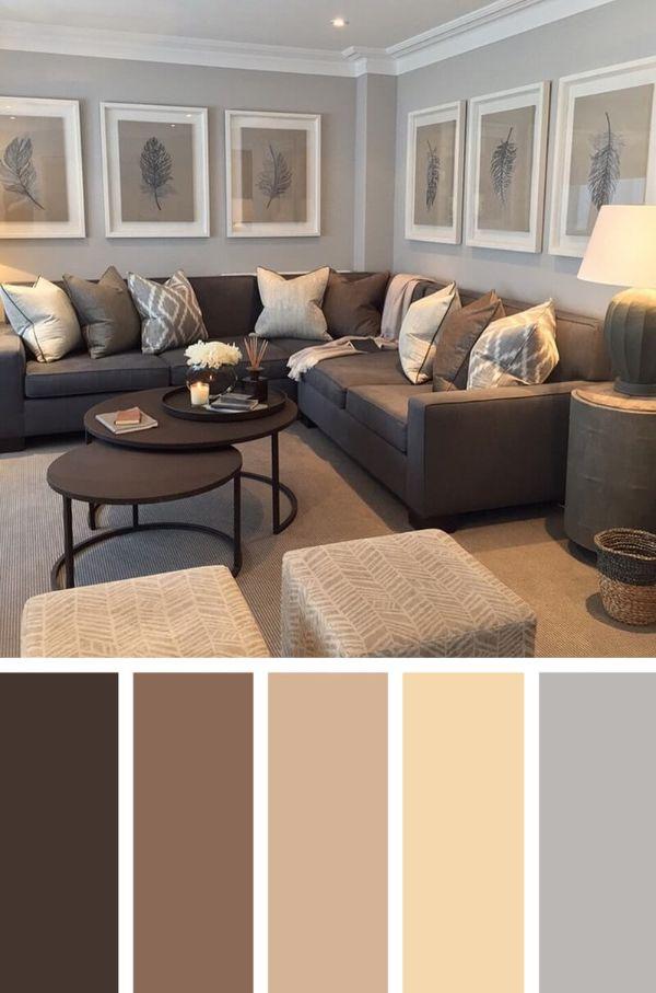 colores para salas modernas paleta de colores