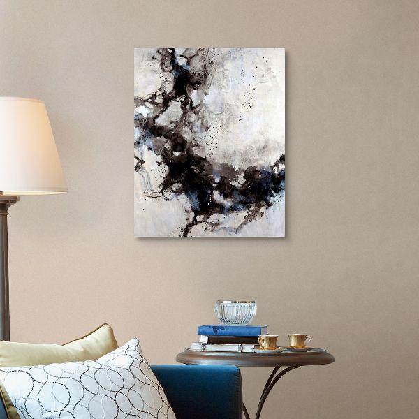 elegantes cuadros para sala arte abstracto