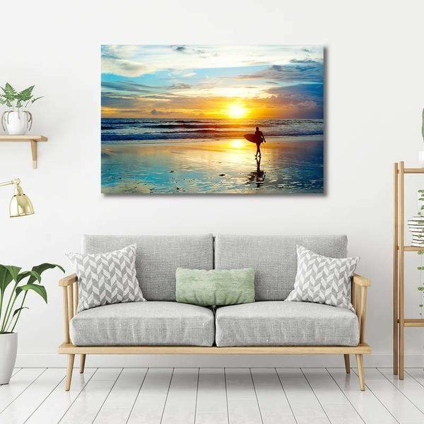 elegantes cuadros para sala fotos de paisajes