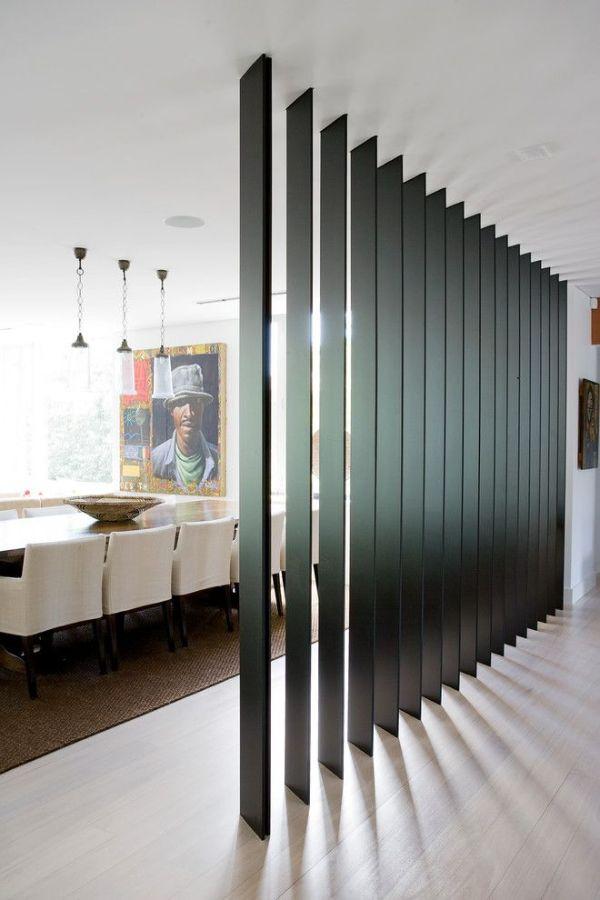 muros para dividir sala comedor ideas artisticas
