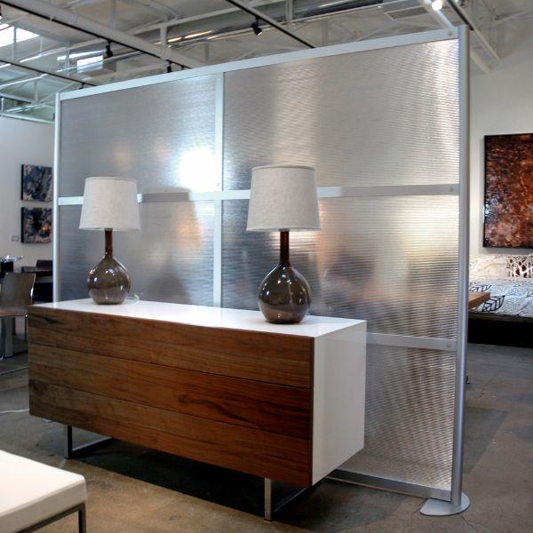 muros para dividir sala comedor panel traslucido