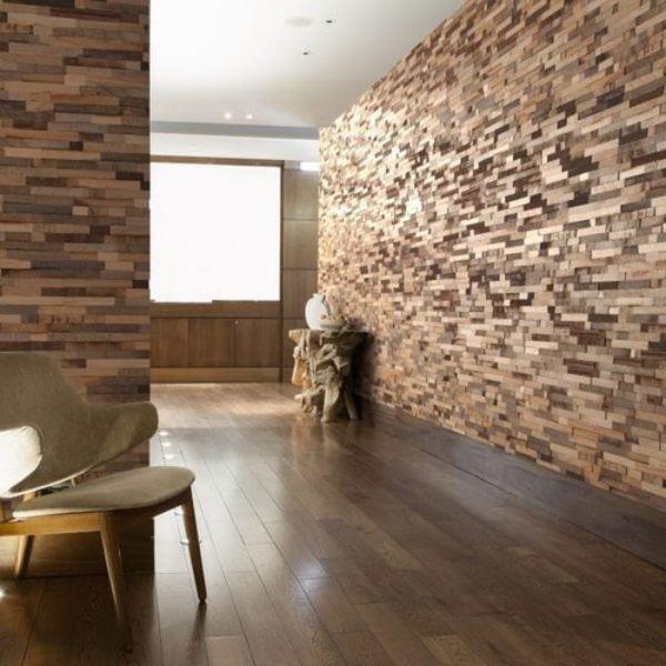 paredes de madera para sala revestimiento