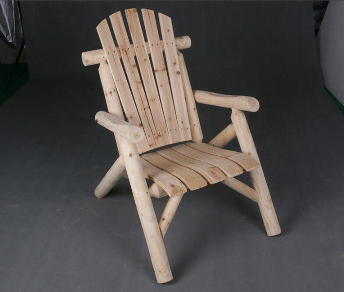 sillas de madera para jardin rusticas